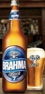 Cerveja Brahma Bock, estilo Traditional Bock, produzida por AmBev, Chile. 7% ABV de álcool.