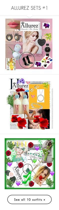 """ALLUREZ SETS #1"" by nizaba-haskic ❤ liked on Polyvore featuring Allurez, LORAC, Christian Louboutin, Chanel, WALL, Brian Atwood, Amanda Wakeley, Casetify, John-Richard and BCBGeneration"
