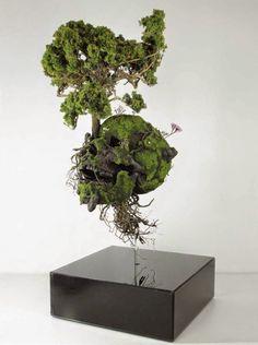 La elegante escultura floral de Émeric Chantier | OLDSKULL.NET