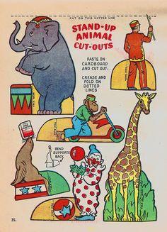 Circus | I love sharing vintage ephemera, especially childre… | Flickr