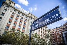 Not everyone's cup of tea then….Madrid's Margaret Thatcher Square vandalized for the second time in a week. For this item, please SEE our Tweet: https://twitter.com/Legal4Spain  Please SHARE our posts with those interested in Spain; and please 'FOLLOW' to see our future updates.