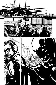 Comic Book Pages, Comic Books Art, Mitch Gerads, Comic Frame, Comic Layout, Storyboard Artist, Bd Comics, Comic Drawing, Pen Sketch
