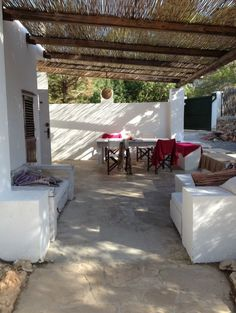 Finca patio, Ibiza tranquillity #IbizaHomes
