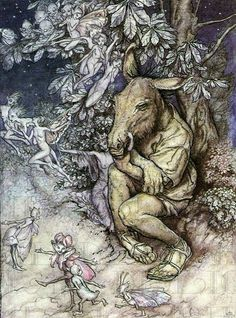 Shakespeare. Midsummer Night's Dream. Arthur Rackham