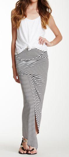 Asymmetrical Gathered Skirt