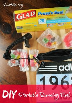 Gels are expensive, and when you are training for a full or half marathon the price adds up, not mention that many gels give runners stomach issues- this DIY homemade Portable running fuel for runners is a great Runner Hack, each packet is only pennies, and you can perfectly measure the calories. For more info on how to fuel properly for a race visit the site. Running motivation- @gladproducts @walmart