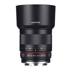 Rokinon High Speed Wide Angle Lens for Fujifilm X Mount - Black - Fuji X Nikon D3100, Sony A6000, Iphone 6, Distancia Focal, Aperture Settings, Camera Photos, Fuji X, Wide Aperture, Photo Lens