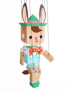 Marionnette de Pinocchio marionnette artisanat en par FantasticToys