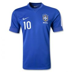 beb205d6e93d29 Brazil 2013 RONALDINHO Away Soccer Jersey Messi 10, Football Jerseys, Cheap  Football Shirts,