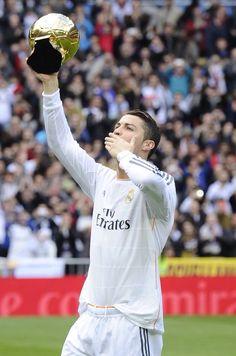 Christiano Ronaldo, Ballon d'Or winner 2014