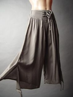 #SteamPunk Pants - DIY easy sew, can do in two hours,