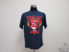 Vtg 90s Locker Line Cleveland Indians Crewneck t Shirt sz XL Extra Large MLB AL #LockerLine #ClevelandIndians #tcpkickz