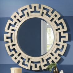 Greek Key Mirror from Through the Country Door®