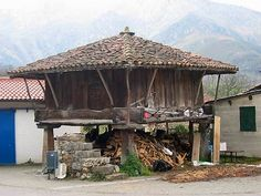 Paraiso Natural, Gazebo, Outdoor Structures, Spain, House Styles, Image, Home Decor, Vernacular Architecture, Architectural Sketches