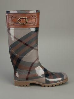 BURBERRY   Wellington boot