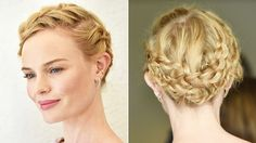 How to Steal Kate Bosworth's Braided Updo