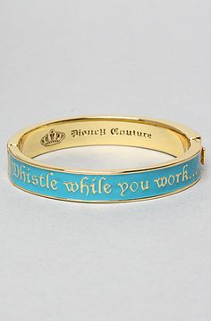 The Whistle While You Work Bracelet by Disney Couture Jewelry $26