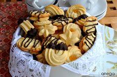 Pastas rizadas con manga pastelera | Receta de pastas de té | Magia en mi cocina | Recetas fáciles de cocina paso a paso