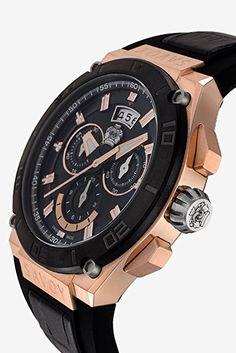 Savoy Watches E4102F.02A.RB04 - Reloj para hombres, correa de silicona color negro: Amazon.es: Relojes