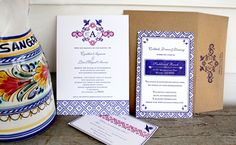 #Fiesta invitation #wedding