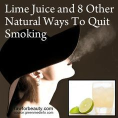 Lime Juice and 8 Other Natural Ways To Quit Smoking | RAW FOR BEAUTY Ways To Stop Smoking, Help Quit Smoking, Giving Up Smoking, Stop Smoking Cigarettes, Raw For Beauty, Quit Smoking Motivation, Smoking Addiction, Nicotine Addiction, Massage