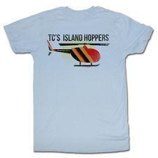 Magnum P.I TC Island Hoppers Licensed Adult Shirt S-XXL