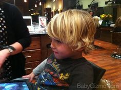When the Baby Becomes A Boy & the Haircut   Baby Gizmo