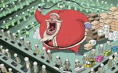Working from London, Steve Cutts creates illustrations and animations that make you think about the world we live in.