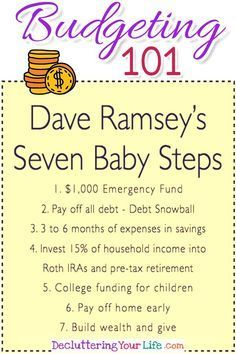 budgeting 101 dave ramseys debt snowball to be debt free in 2019