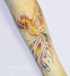 phoenix tattoo | Tumblr