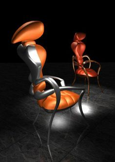 Exotic Chairs Concept with Ant Shape by Wild Design