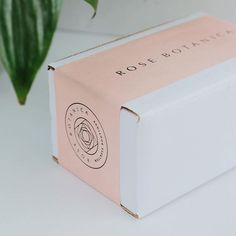 packaging Monday mood: peachy-pink tape for .