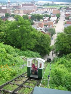 Fenelon Place Elevator in Dubuque, Iowa Still going strong. I remember this as a little kid and went back in 2010 to ride it again