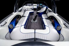 Malibu Wakesetter 247 LSV: Malibu has stepped up its interior quality in recent years.