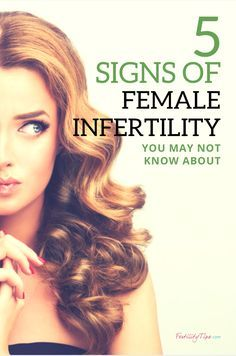Here are five symptoms of possible fertility issues that you may not have known about.