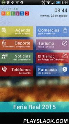 Vivir En Priego  Android App - playslack.com ,  Toda la información de Priego de Córdoba a tu alcance.Información de las actividades socioculturales, deporte, noticias del consistorio, teléfonos de interés, farmacias, turismo, el tiempo, obituario, etc...Incluye una guía comercial que permite la búsqueda de comercios de la localidad por nombre o categoría y de los productos que estos ofrecen a sus clientes.Próximamente permitirá envío de incidencias y encuestas al Ayuntamiento de Priego de…