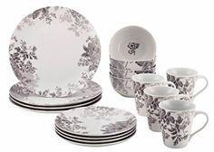 BonJour Dinnerware Shaded Garden 16-Piece Porcelain Dinnerware Set, Slate, http://www.amazon.com/dp/B00NRZRKM6/ref=cm_sw_r_pi_awdm_bLVnwb1X3XDXB