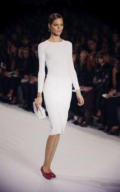 Minimalism - dress by Chloé