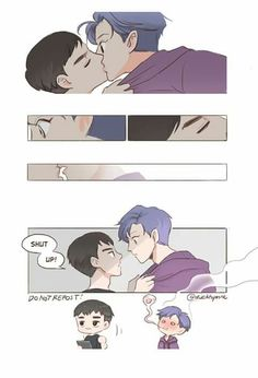 ImageFind images and videos about exo, d.o and fanart on We Heart It - the app to get lost in what you love. Kyungsoo, Kaisoo, Chanbaek, Ff Exo, Exo Kokobop, Kpop Exo, Deadpool X Spiderman, Exo Anime, Fanfiction