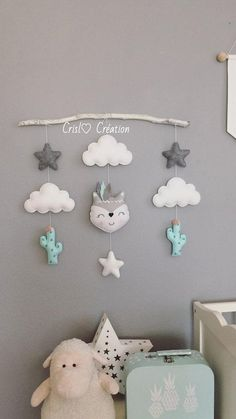 Baby Girl Nursery Room İdeas 389209592798530787 - Fox Branch Branche renard Source by aderach Baby Bedroom, Baby Boy Rooms, Baby Boy Nurseries, Room Baby, Baby Diy Projects, Baby Crafts, Sewing Projects, Sewing Ideas, Creation Deco