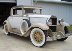1929 Nash Special Six Rumbleseat Coupe