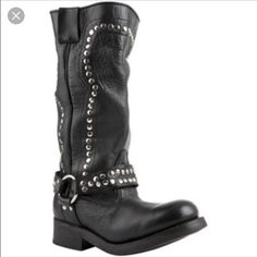 ❤️iso❤️ Jeffrey Campbell viva boots Dying to find Jeffrey Campbell Viva distressed biker boots in black! Please let me know or tag me if anyone has them!!! Jeffrey Campbell Shoes Combat & Moto Boots