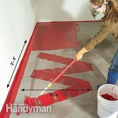 How to Apply Epoxy Floor Paint to Your Garage | The Family Handyman
