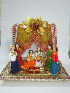 Goud packing for ganesh pooja function fabulous packing tray indian decorationindian wedding junglespirit Images