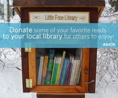 Try this random act of kindness and watch the joy of reading spread to people in your community!