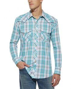 Ariat Retro Sheldon Plaid Snap Shirt