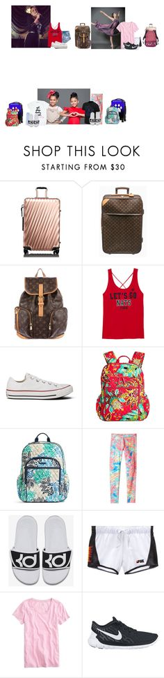 """""""Thursday// Flight to Virginia"""" by those-families ❤ liked on Polyvore featuring Tumi, Louis Vuitton, Converse, Vera Bradley, Lilly Pulitzer, Roxy Kids, NIKE, Victoria's Secret, J.Crew and TheHartFamily"""