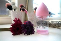 This is a beauty blender dupe, or should I say steal!? This makeup blending sponge is amazing to give you a natural look without absorbing too much product. It is only $10.99 but this post includes at 20% off coupon code! I review and demo this Embel Beauty makeup blending sponge. #beautyblender #bblogers #mbloggers #ad #reviewanddemo