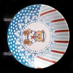 Assiette creuse pour enfant Ourson personnalisée : Autres bébé par ...
