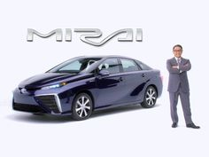 Toyota venderà dal mese prossimo la Mirai in Giappone, un'auto a idrogeno.